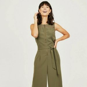 Octavia zippered front jumpsuit